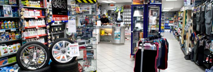 Checkpoint west kirby shop