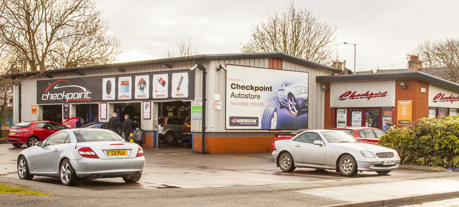 Checkpoint Auto parts & servicing in Mold