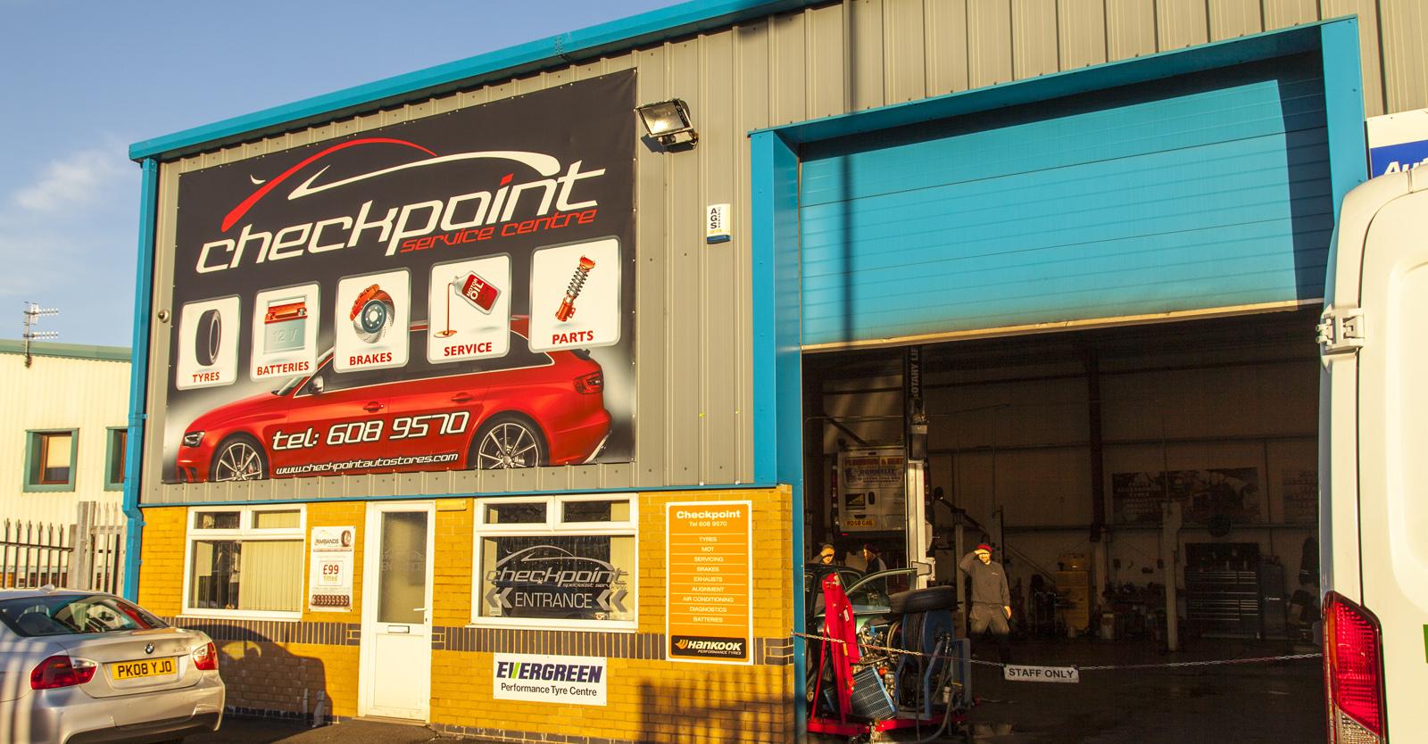 Checkpoint Prenton - Car servicing, tyres, exhausts, MOT centre